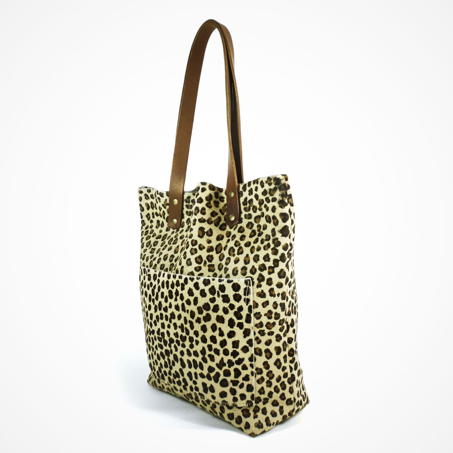 Alex Shopper Pony Skin Cheetah