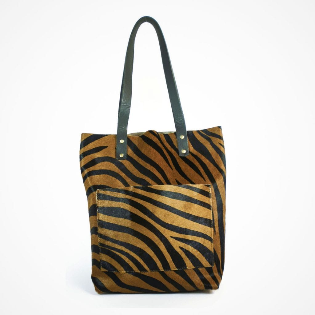 Alex Shopper Pony Skin Tiger